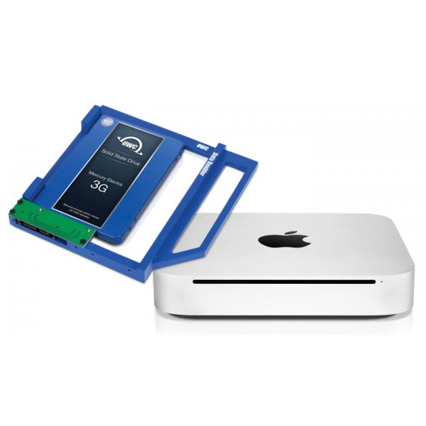 OWC Data Doubler Optical Bay Drve/SSD Mounting Solution for Mac Mini 2010, OWCDDMM10CL0GB