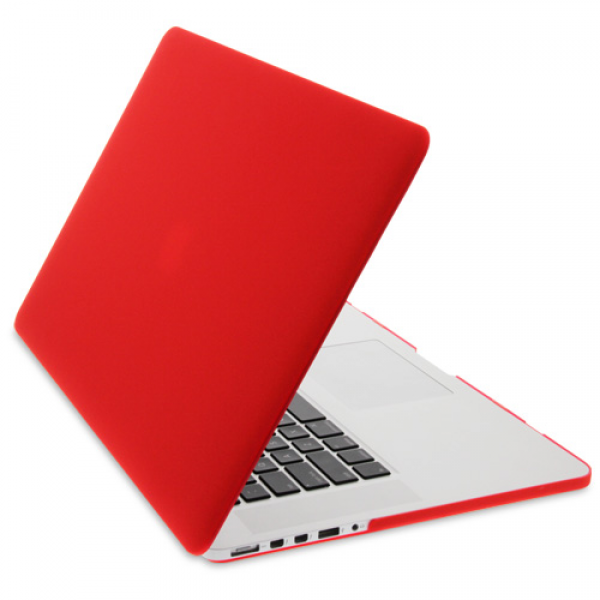 Rubberised Hard Cases Laptop Cover for MacBook Pro 13-Inch Models -  Red, DIS-ZF-MR133C-RD