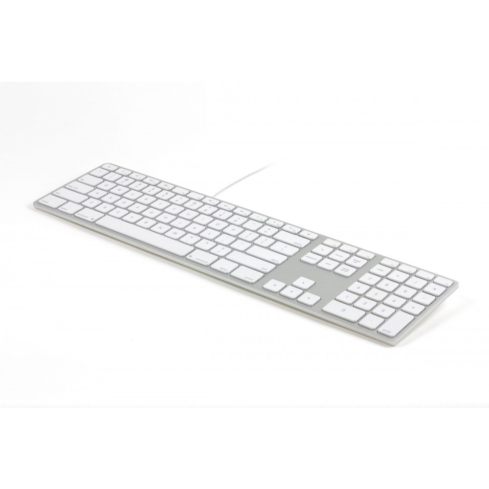 Matias Wired Aluminum Keyboard for Mac - Silver, MAFK318S