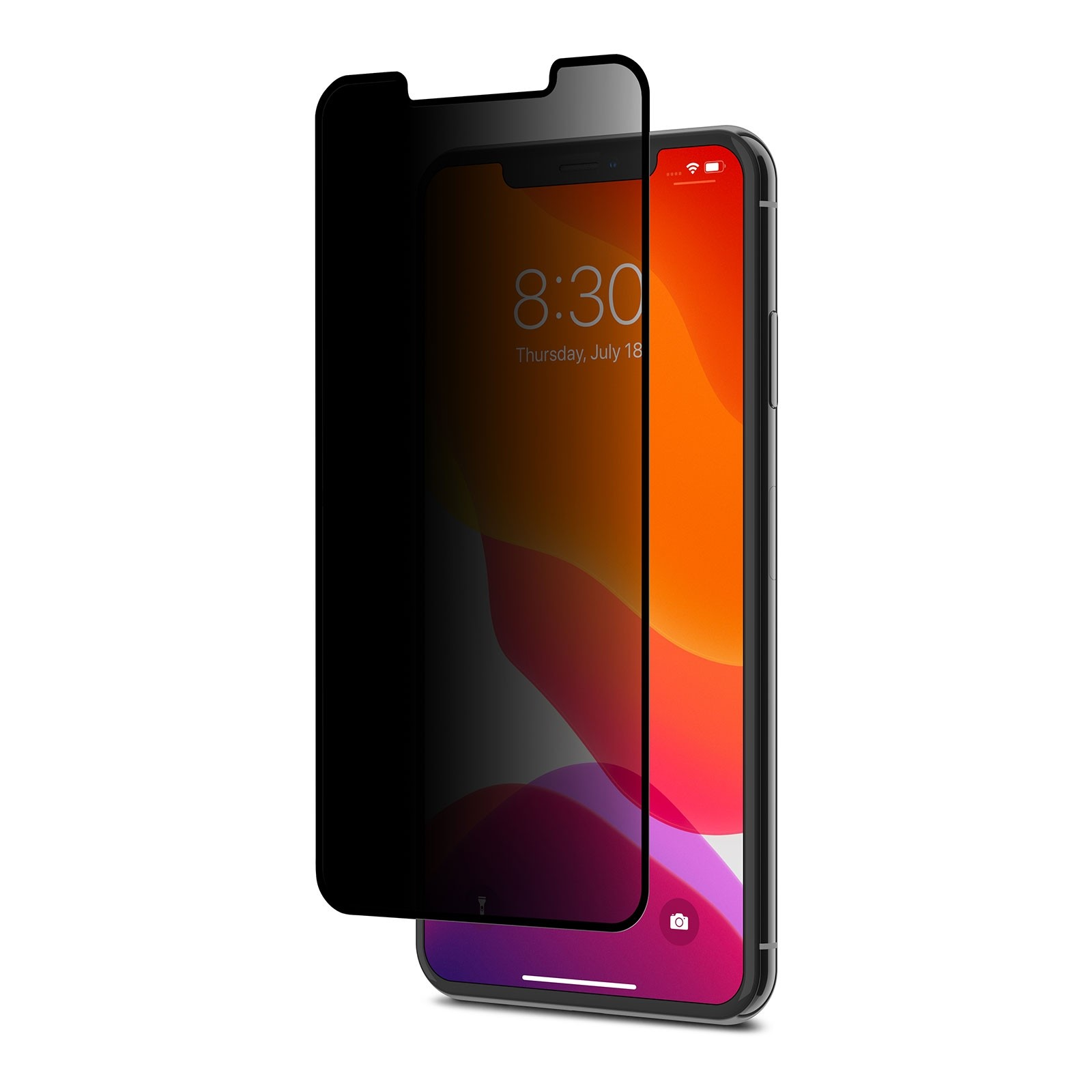 Moshi IonGlass Privacy for iPhone 11 Pro Max/Xs Max - Black, 99MO115002