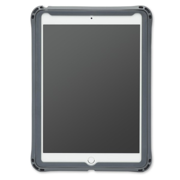 "Brenthaven Edge 360 Case for iPad 9.7- Designed for iPad 9.7"" 2018 / 2017 (iPad 6th / 5th Gen) - Grey, 15BH-APP-E360-IPAD97"