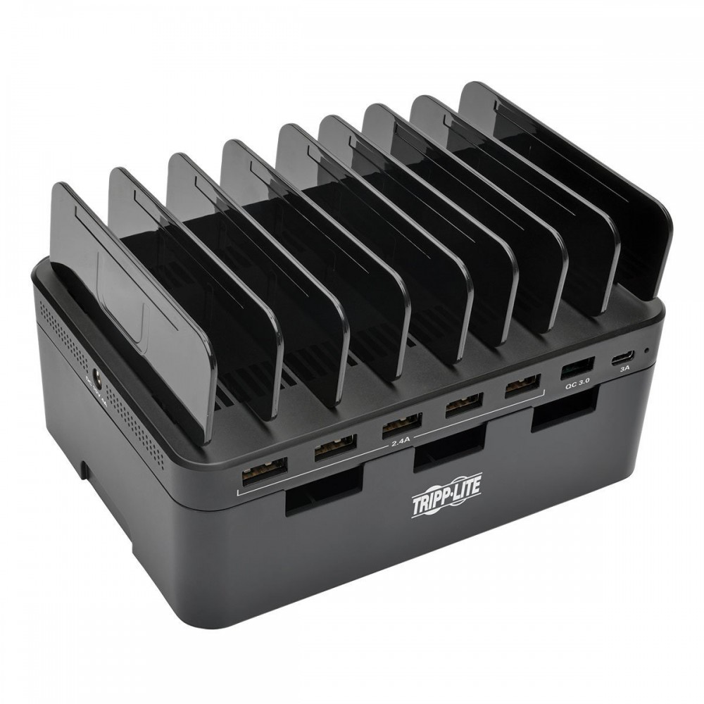 Tripp Lite 7-Port USB Charging Station with Quick Charge 3.0, TRPU280007CQCST