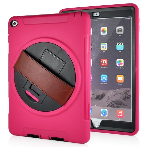 Stand Back Case with Belt for iPad Air 2 - Magenta, IPD6-BELT-67376