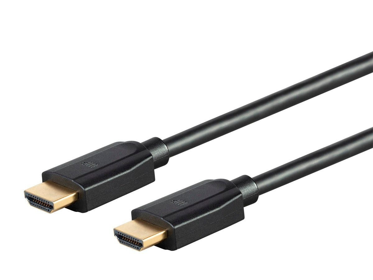 Monoprice DynamicView Ultra 8K Premium High Speed HDMI Cable, 48Gbps, 8K, Dynamic HDR, eARC, 2.4 m - Black, 39511