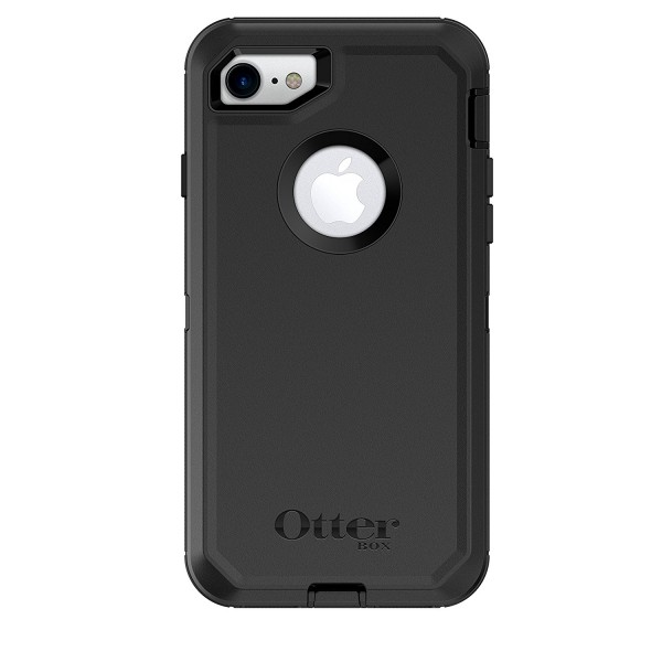 OtterBox Defender Series Case for iPhone 8 & iPhone 7 - Black, 77-56603