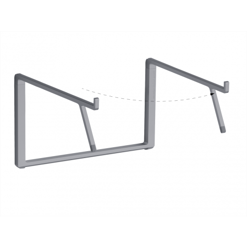 Rain Design mBar Pro+ foldable stand for MacBook - Space Grey
