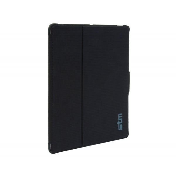 STM Skinny Compact Folio-Style Case and Screen Cover for iPad 2/3/4 : Black, *STM-SKINNY-IPAD3-BLACK