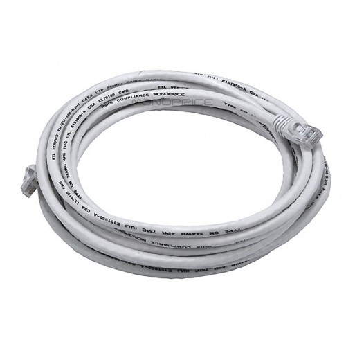 4.2m 24AWG Cat6 550MHz UTP Ethernet Bare Copper Network Cable - White