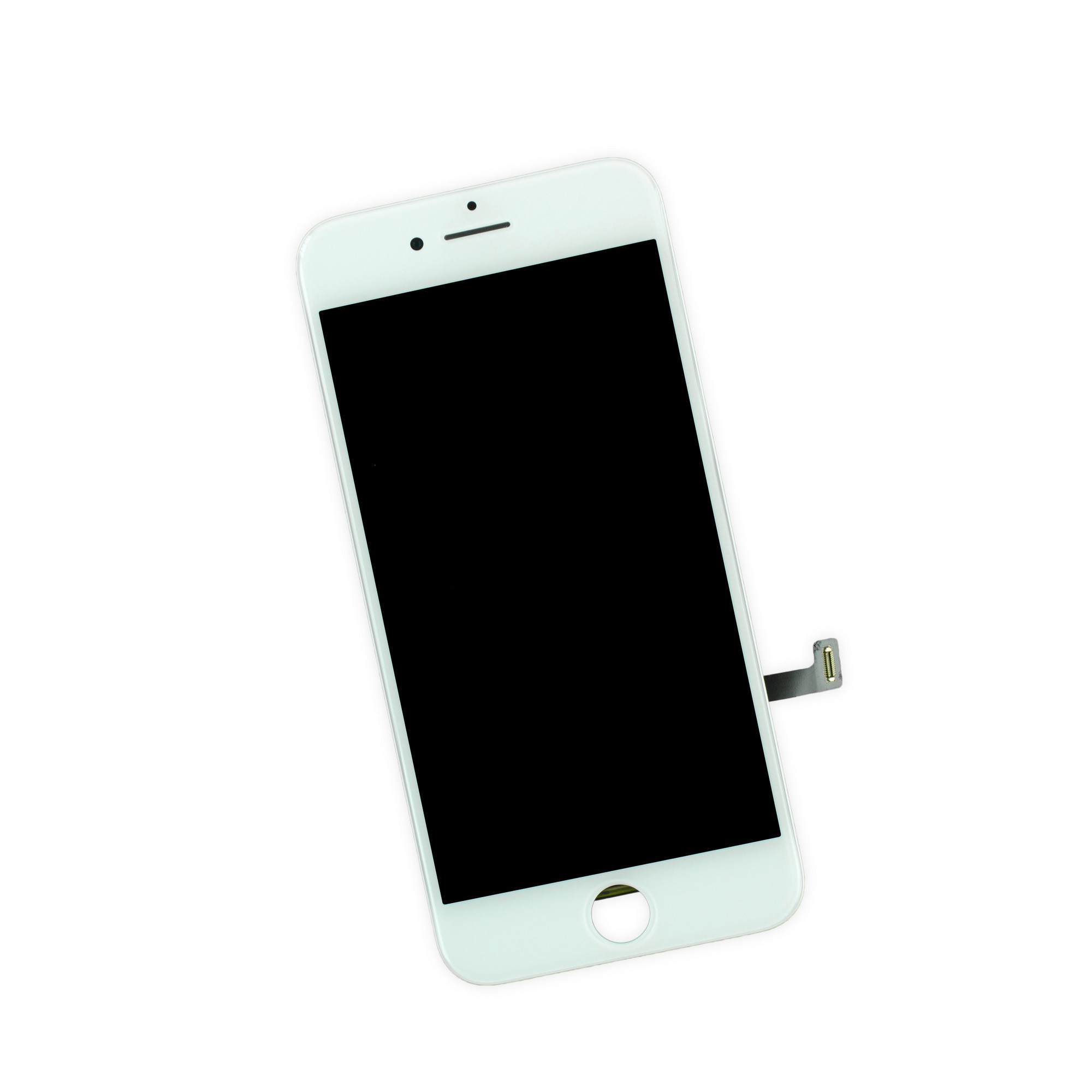 iFixit iPhone 7 LCD Screen and Digitizer Full Assembly, New, Fix Kit - White, IF332-049-4