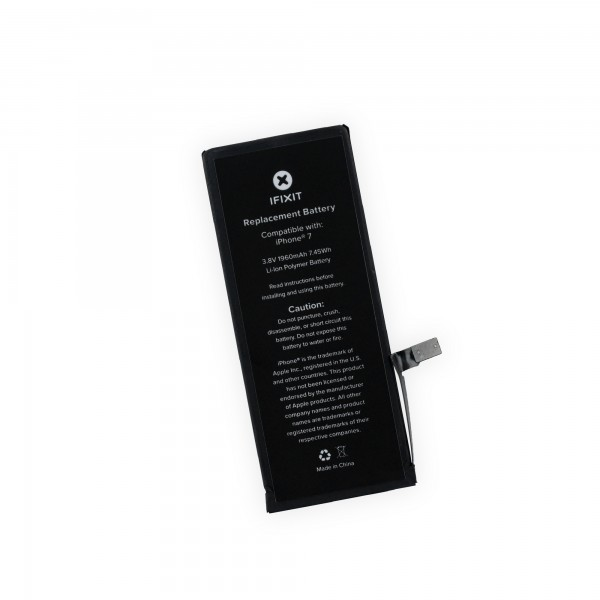 iFixit iPhone 7 Replacement Battery, New Part Only,  IF332-005-1