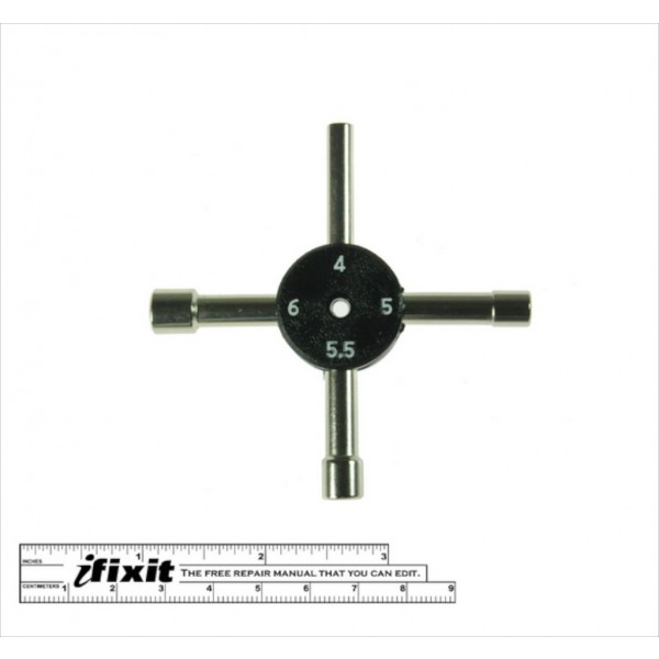 iFixit Metric Combination Nut Driver, IF145-128-1