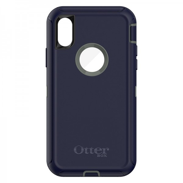 OtterBox Defender Series Case for iPhone X - Stormy Peaks, 77-57027