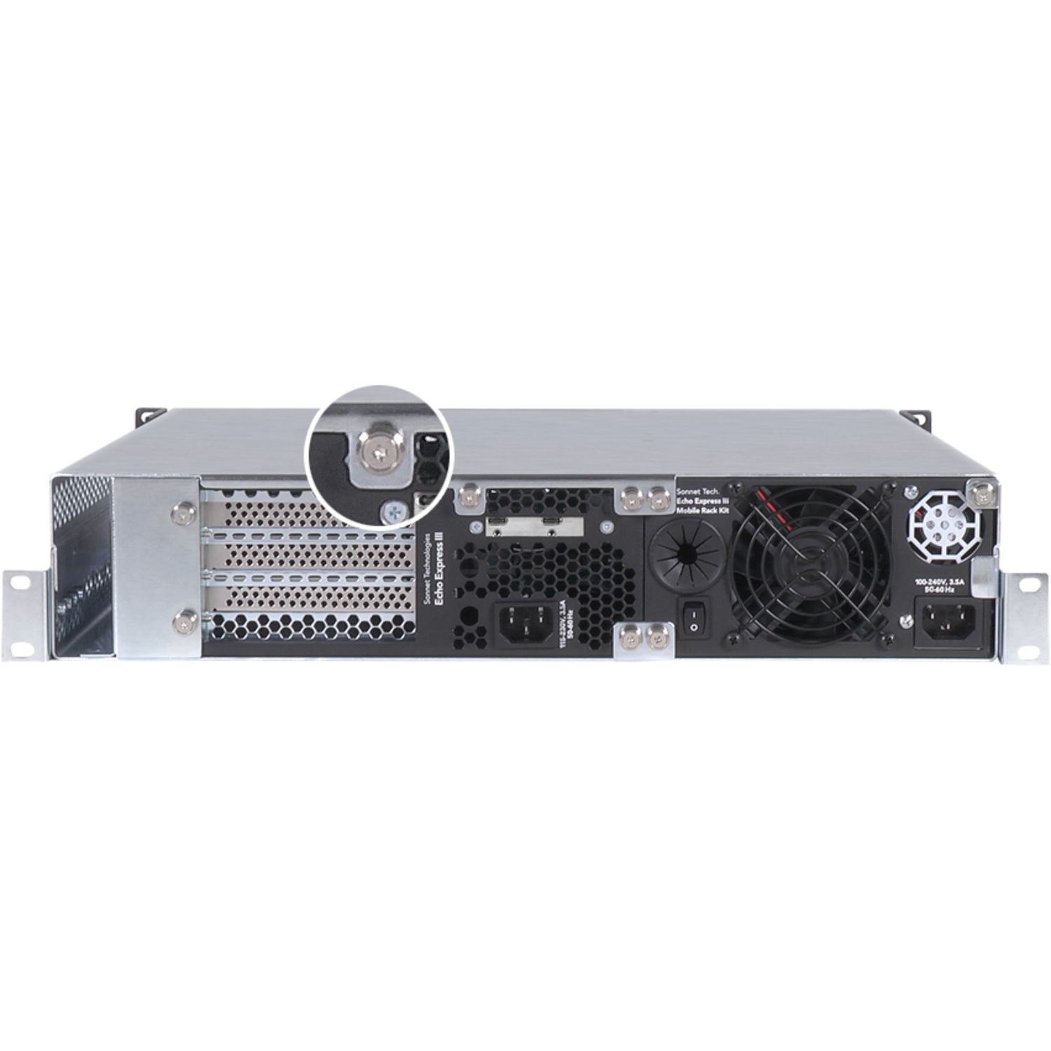Sonnet Echo Express III-R Thunderbolt 3 Expansion Chassis for PCIe Cards, SOECEXP3FRT3