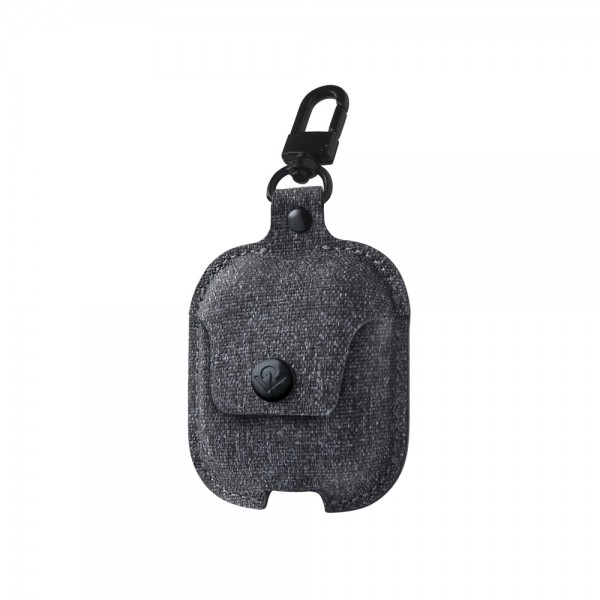 Twelve South AirSnap for AirPods - Smoke Grey, 12-1916