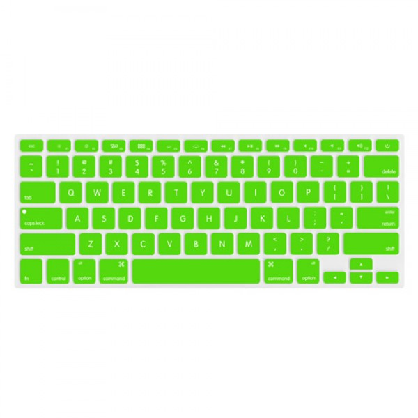 "NewerTech NuGuard Keyboard Cover for 2011-15 MacBook Air 13"", All MacBook Pro Retina - Green, NWTNUGKBMBRG"