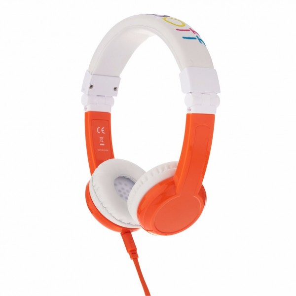 Onanoff BuddyPhones Explore Foldable with Mic - Orange, BP-EX-FD-ORANGE-01-K