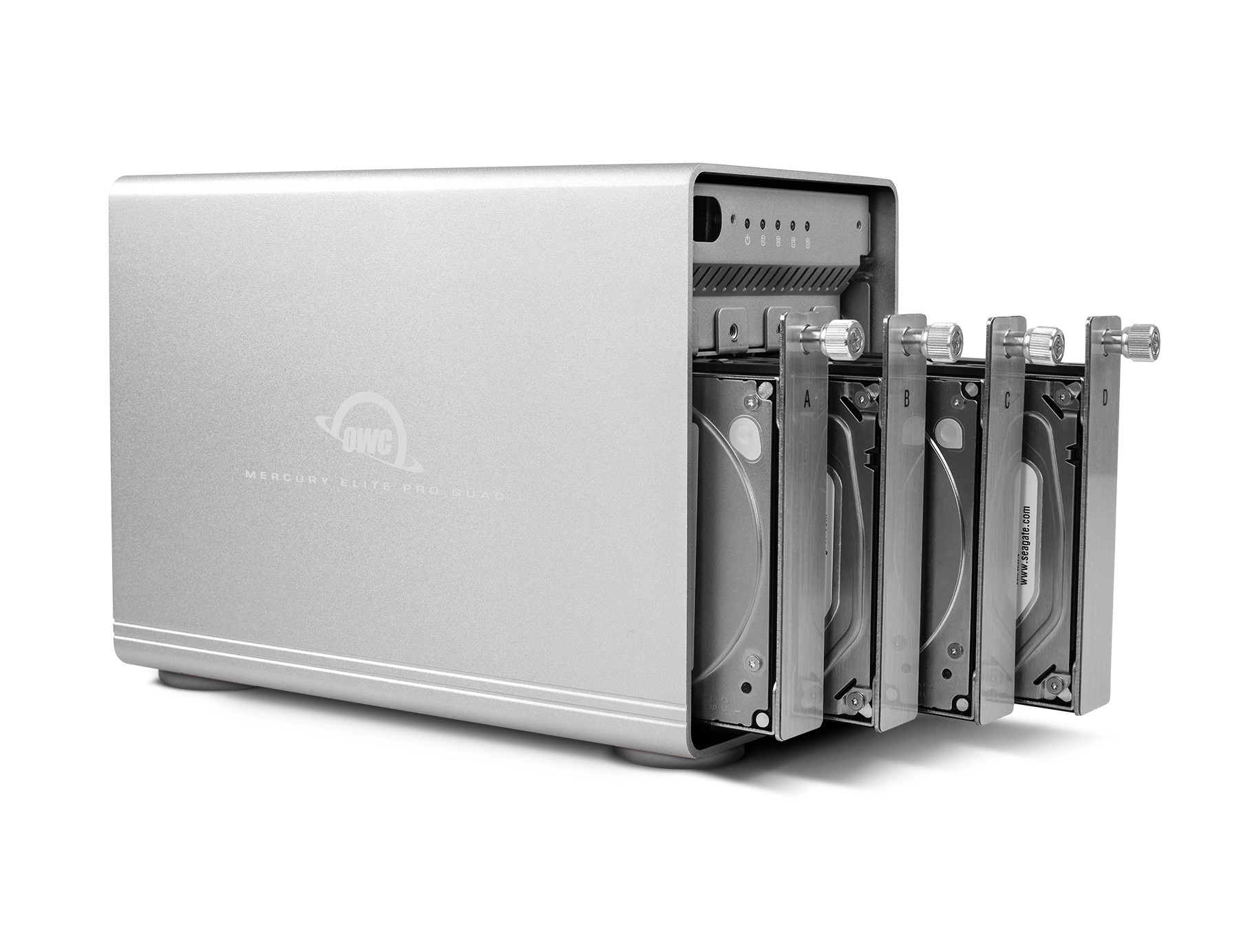 24TB OWC Mercury Elite Pro Quad RAID Ready (JBOD) 4-Drive HDD Storage Solution, OWCMEQCTJBT24