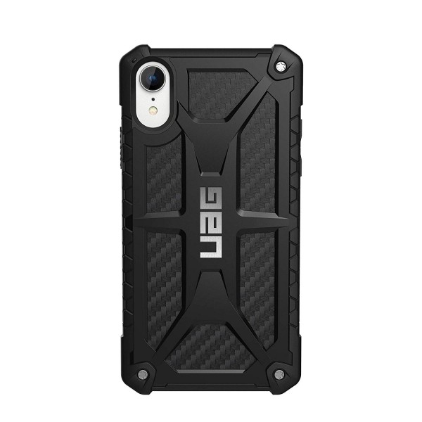 Urban Armor Gear iPhone XR Monarch Feather-Light Rugged Military Drop Tested iPhone Case - Carbon Fiber, 111091114242