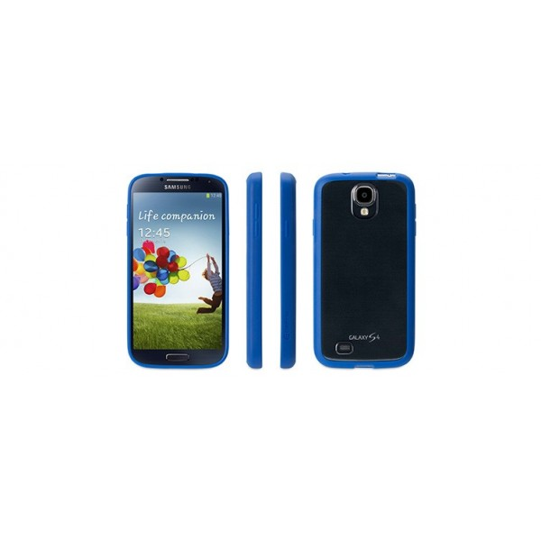 Griffin Reveal Case suits Samsung Galaxy S4 - Blue/Clear, *GRIF-REV-SGS3-BU