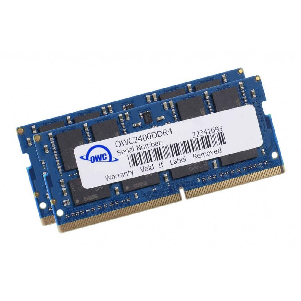 16.0GB (2 x 8GB) 2400MHz DDR4 SO-DIMM PC4-19200 260 Pin CL17 RAM Memory Upgrade, OWC2400DDR4S16P