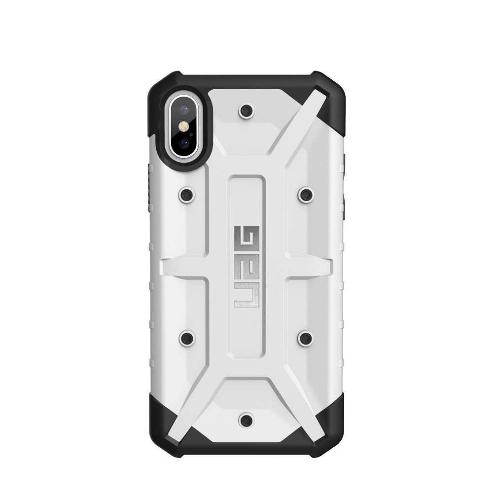 Urban Armor Gear Pathfinder Case for iPhone X/Xs - White, U-IPHX-A-WH
