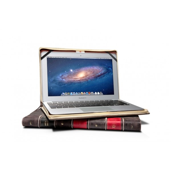 "Twelve South BookBook Padded Leather Case - Work-in Folio for 13"" Macbook Air"
