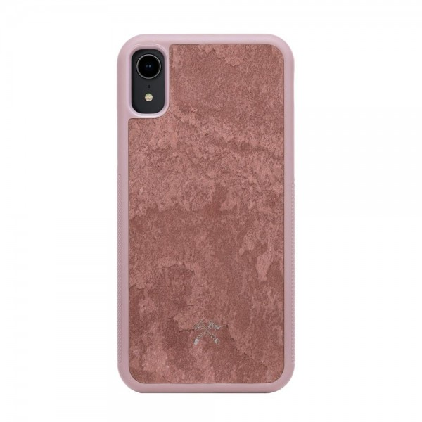 Woodcessories EcoBump Stone for iPhone XR - Canyon Red, sto055