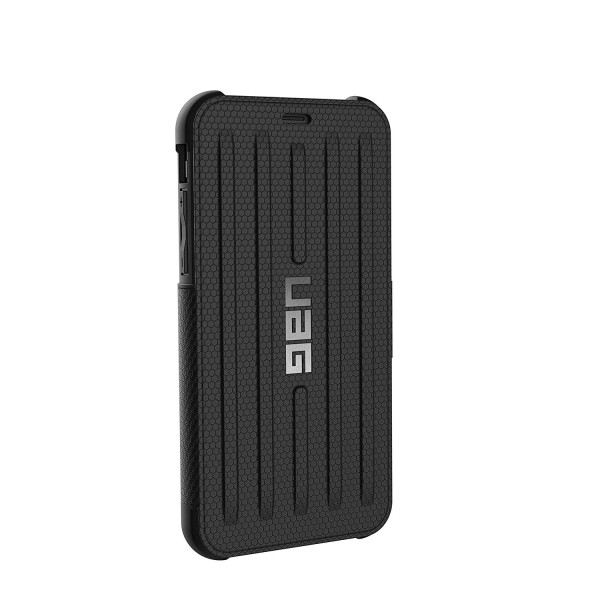 Urban Armor Gear Folio iPhone Xs/X Metropolis Feather-Light Rugged Military Drop Tested iPhone Case - Black, IPHX-E-BL