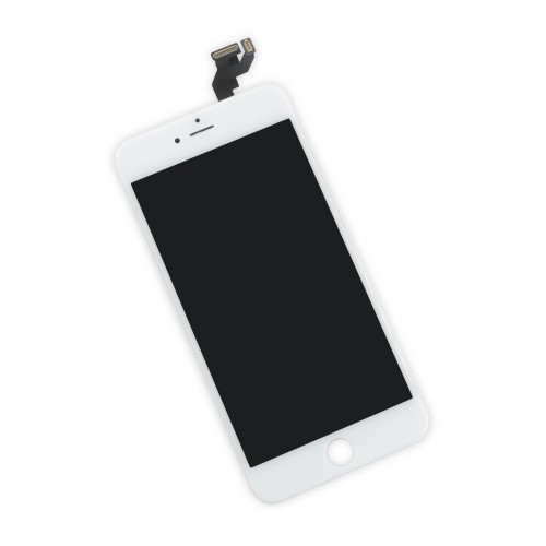 iFixit iPhone 6s Plus LCD Screen and Digitizer Full Assembly, New - Premium - Part Only - White