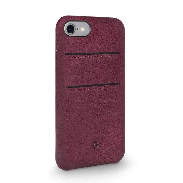 Twelve South RelaxedLeather with pockets for iPhone 7/8 - Marsala, 12-1647