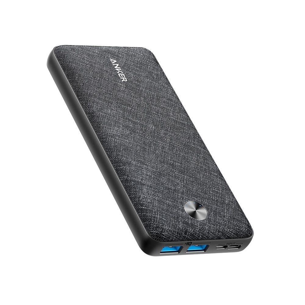 Anker PowerCore Essential 20000 - Black Fabric, A1268T11
