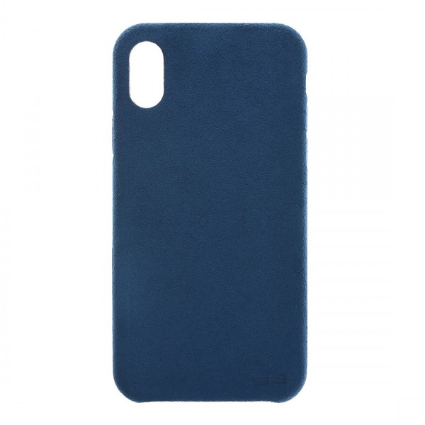 Power Support Ultrasuede Air Jacket for iPhone X - Blue, PGK-81
