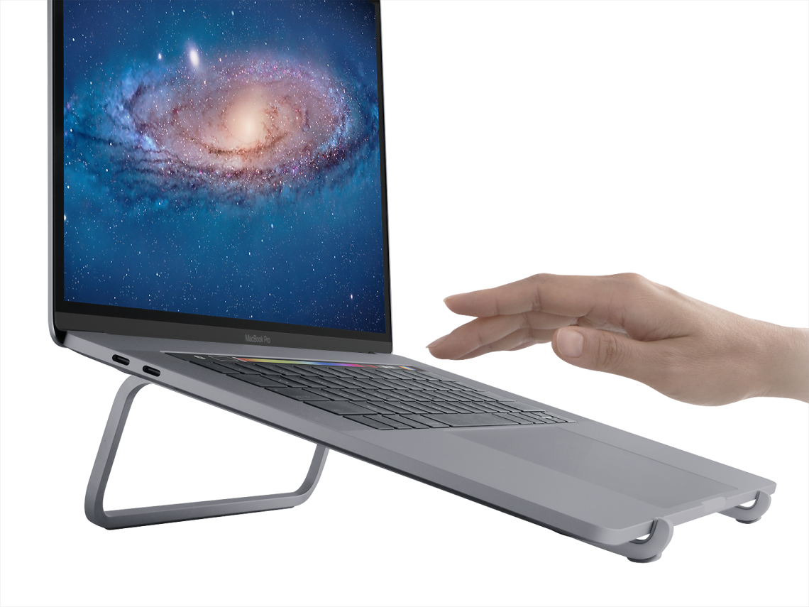 Rain Design mBar stand for MacBook and Laptops - Space Grey, RAI10081