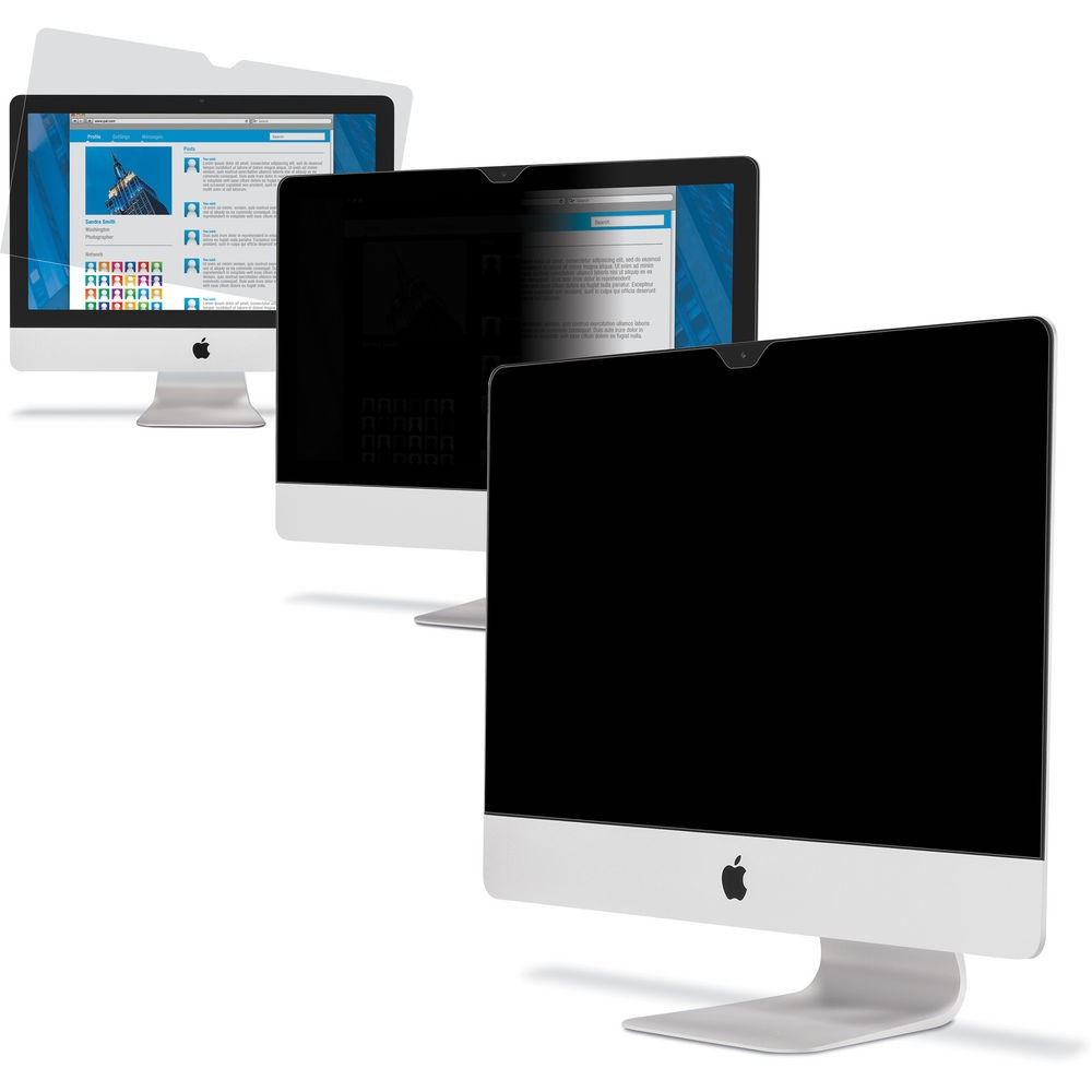 """3M Privacy Filter Screen for iMac 21.5"""", 3M-PSCR-21"""