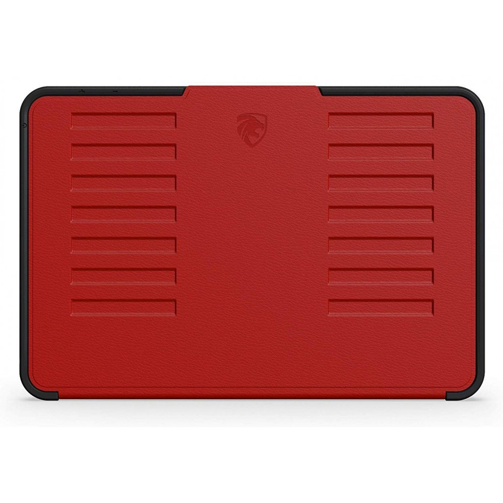 ZUGU CASE - iPad Mini 5 & 4 Muse Case - 5 Ft Drop Protection, Secure 7 Angle Magnetic Stand - Red, ZG-M-MIN5R