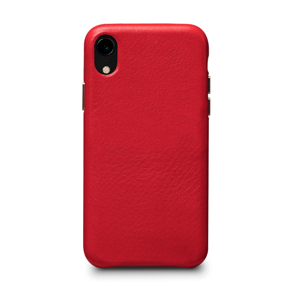 Sena Kyla LeatherSkin case for iPhone XS - Red, SFD37903NPUS