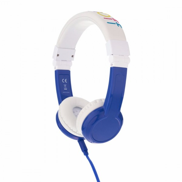 Onanoff BuddyPhones Explore Foldable with Mic - Blue, BP-EX-FD-BLUE-01-K