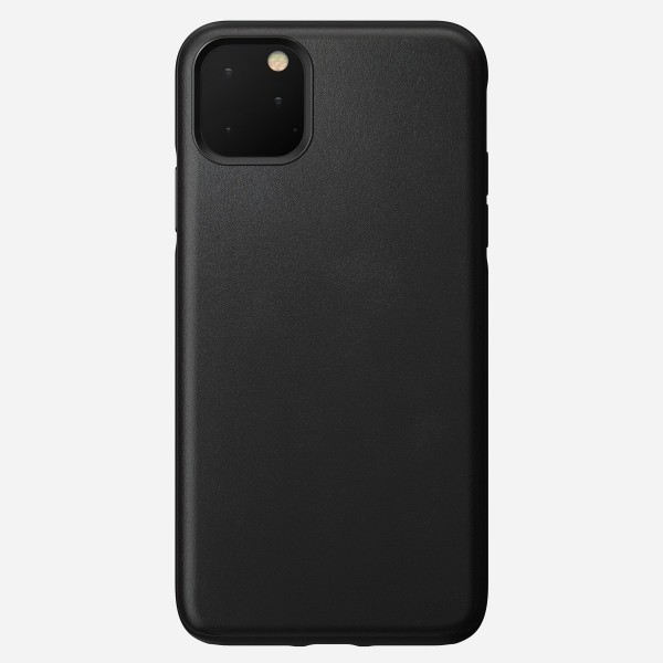 Nomad - Leather Case - Rugged - iPhone 11 Pro Max - Black, NM21Y10R00