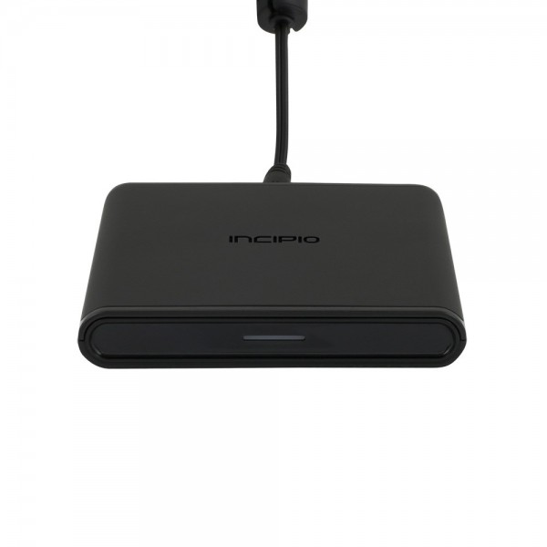 Incipio GHOST Qi 15W 1-Coil Wireless Charging Pad - Black, PW-309-INT
