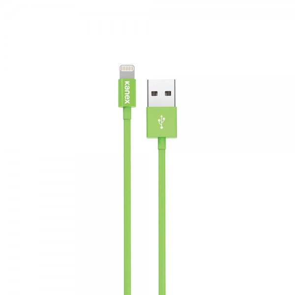 Kanex Charge and Sync Cable with Lightning Connector 1.2 m - Green, K8PIN4FGN