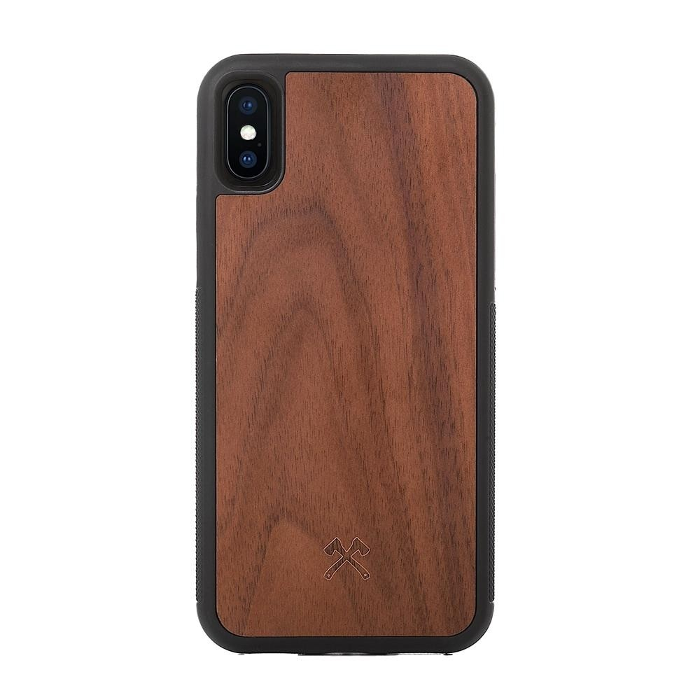 Woodcessories EcoCase Bumper Case for iPhone XS Max - Walnut, eco280
