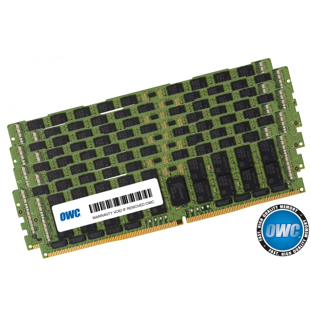 256.0GB (8 x 32GB) PC21300 DDR4 ECC 2666MHz 288-pin RDIMM Memory Upgrade Kit, OWC2666R3M256