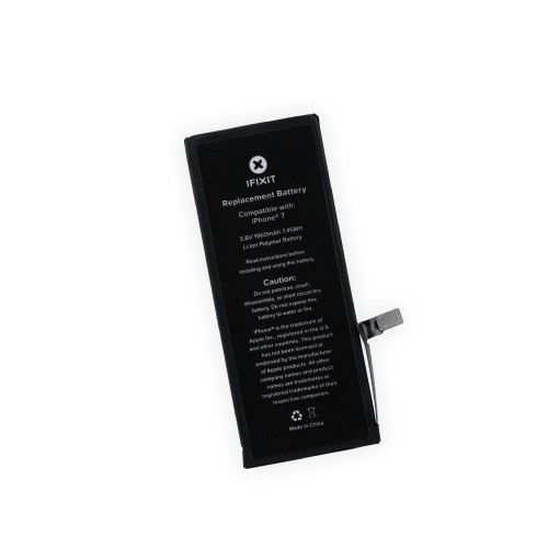 iFixit iPhone 7 Replacement Battery, New Part Only with Adhesive
