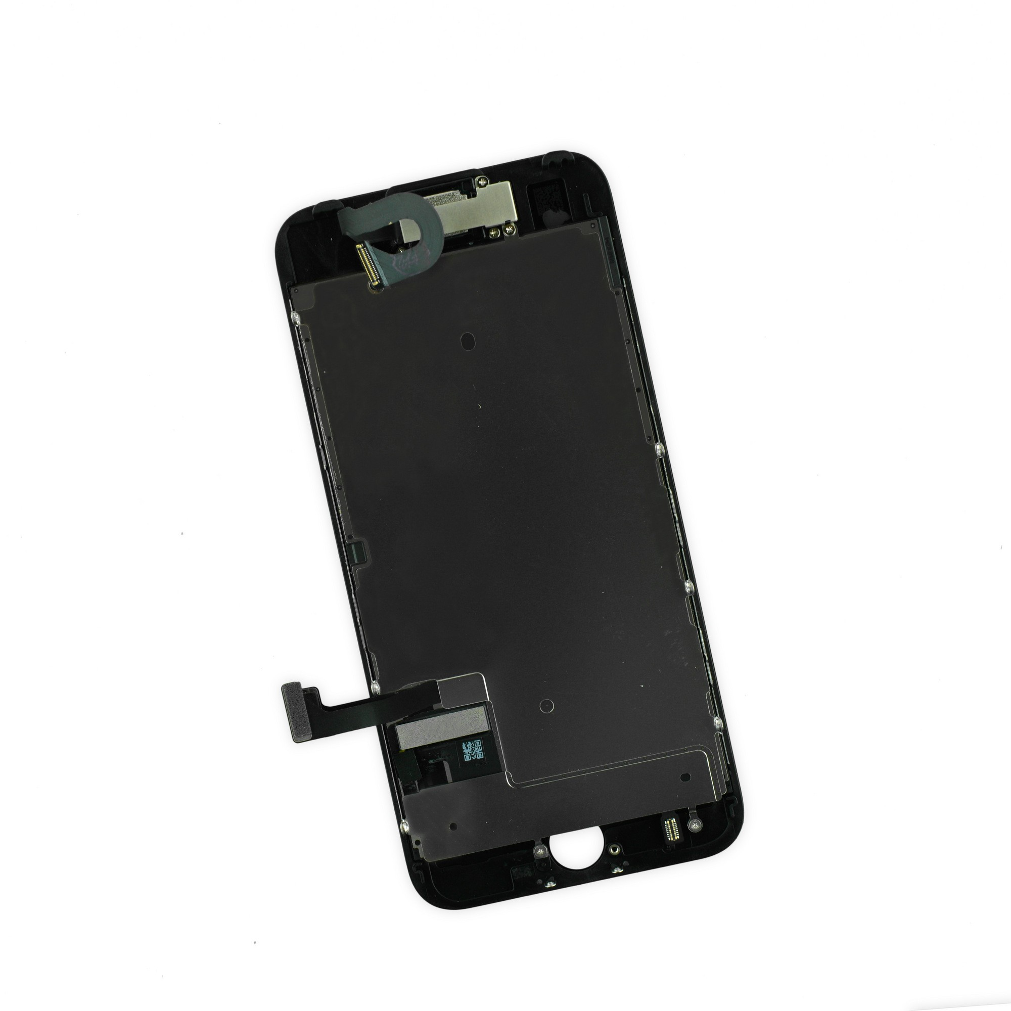 iFixit iPhone 7 LCD Screen and Digitizer Full Assembly, New, Fix Kit - Black, IF332-049-3