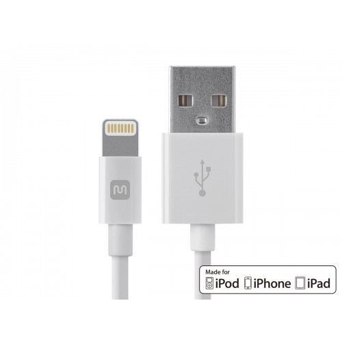 Select Series Apple MFi Certified Lightning to USB Charge & Sync Cable 4ft White