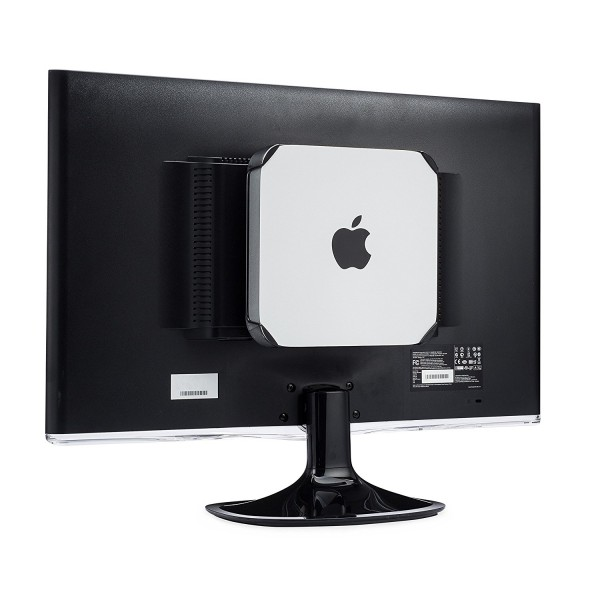 HumanCentric Mac Mini Monitor Stand Mount - Custom Mount for the Mac Mini, VESA Compatible Monitor Mount, Wall Mount, Under Desk Mount, B0717152XT