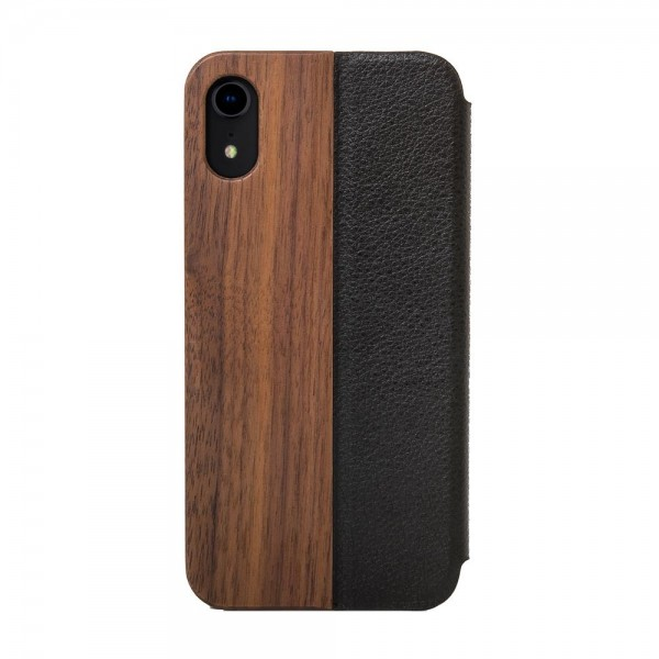 Woodcessories EcoFlip Casefor iPhone XR - Walnut, eco269