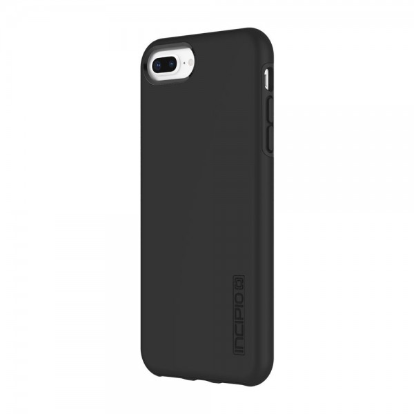 Incipio DualPro Case for iPhone 7 Plus/8 Plus - Black/Black, IPH-1491-BLK