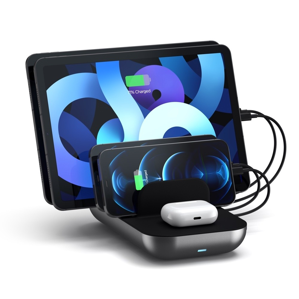 Satechi Dock5 Multi-Device Charging Station with Wireless Charging, ST-WCS5PM