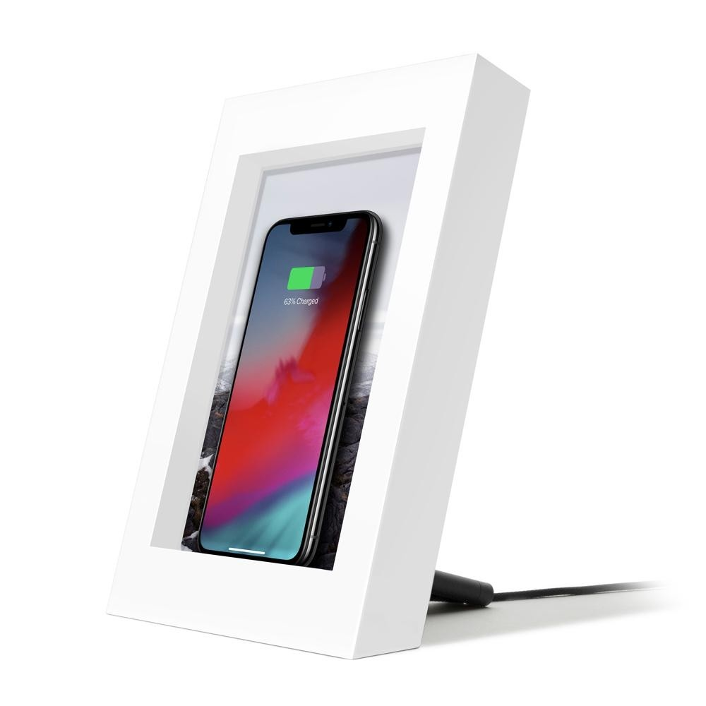 Twelve South PowerPic for iPhone - White, 12-1810